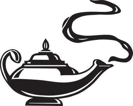 genie lamp: Magic Lantern