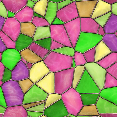 Stained Glass Seamless Texture Tile