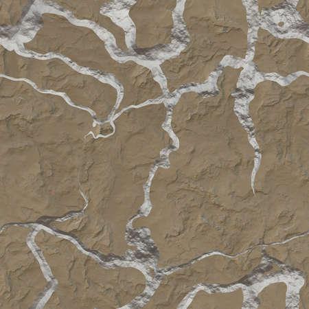 Cracked Stucco Seamless Texture Tile