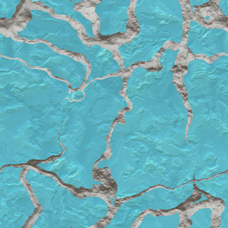 Cracked Stucco Seamless Texture Tile Stock Photo - 13949093