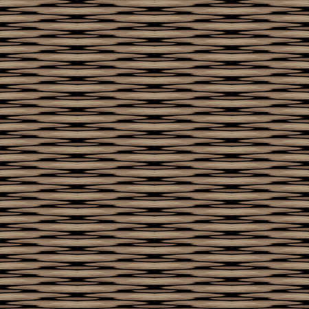 seamless tile: Wicker Background Seamless Texture Tile Stock Photo