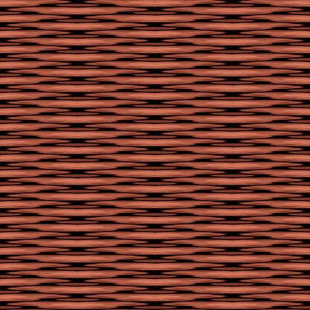 Wicker Background Seamless Texture Tile Zdjęcie Seryjne