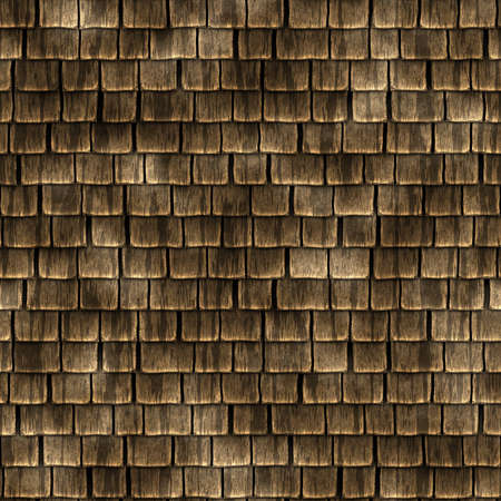 Wood Shingles Seamless Texture Tile