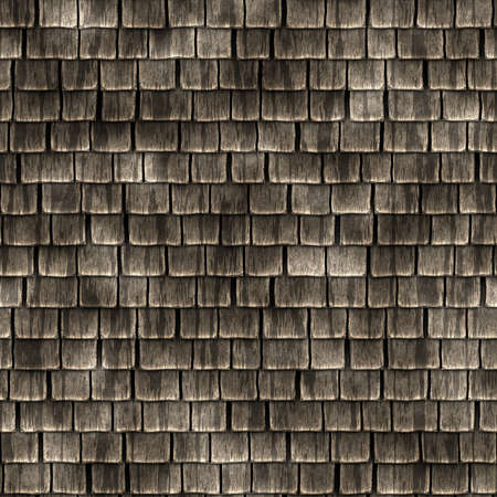 Wood Shingles Seamless Texture Tile photo