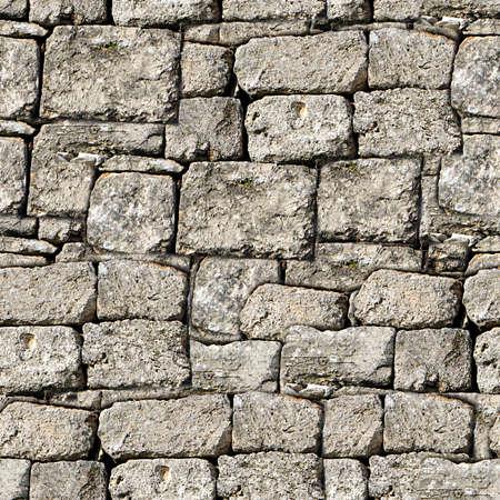 seamless: Stone Wall Seamless Texture Tile Stock Photo