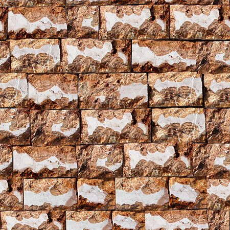 textured: Stone Wall Seamless Texture Tile Stock Photo