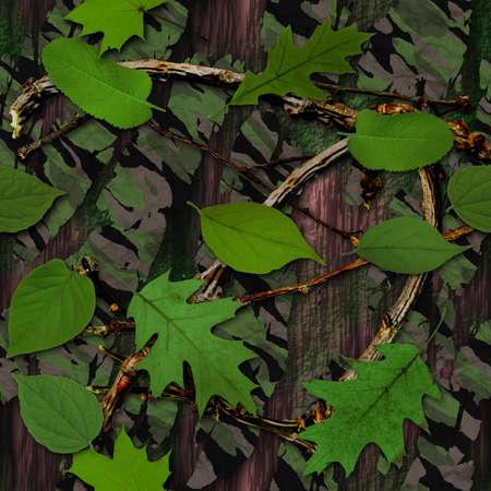camuflaje: Camuflaje Natural Tile Seamless Texture Foto de archivo