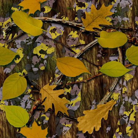 camuflaje: Camuflaje Natural Textura inconsútil del azulejo