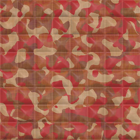 quilted: Quilted Camouflage Seamless Texture Tile Stock Photo
