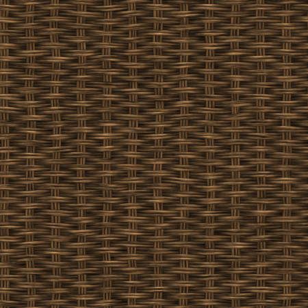 Rattan Seamless Texture Tile photo