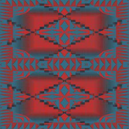 Southwest Pattern Seamless Texture Tile Stock Photo - 13981329