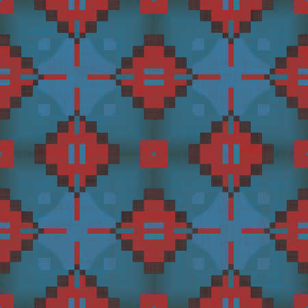 Southwest Pattern Seamless Texture Tile Stock Photo - 13981326