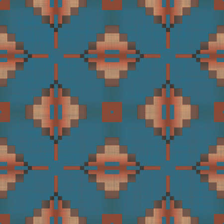 Southwest Pattern Seamless Texture Tile photo