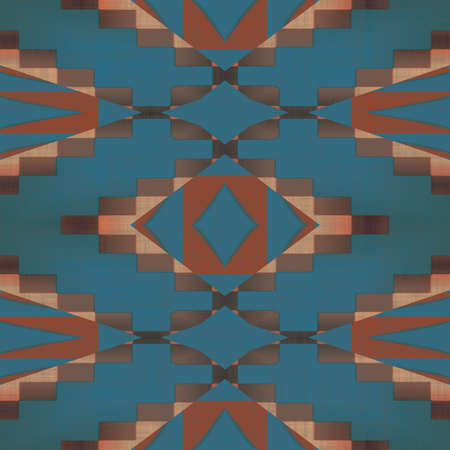 Southwest Pattern Seamless Texture Tile photo