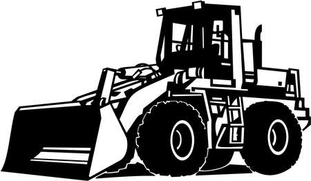 industrial machinery: Front Loader Vinyl Ready