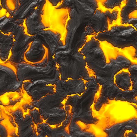 lava: Lava Flow Seamless Texture Tile