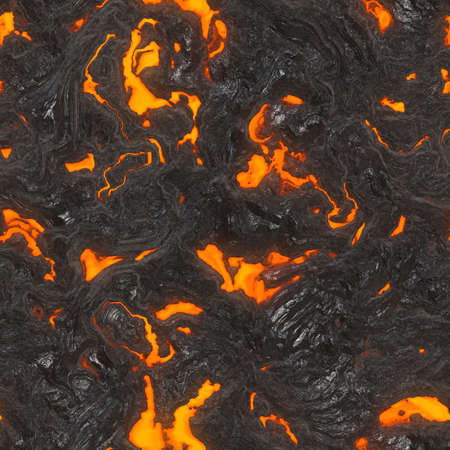 Lava Flow Seamless Texture Tile photo