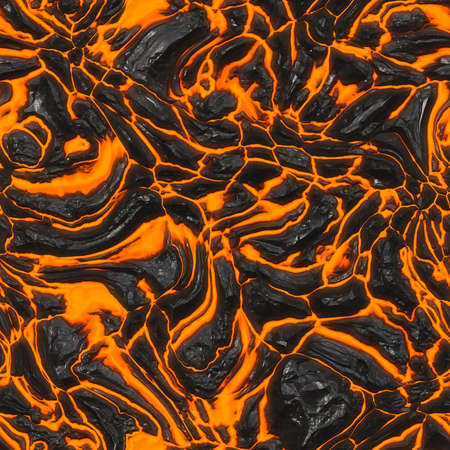 molted: Lava Flow Seamless Texture Tile