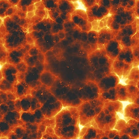 Fiery Explosion Seamless Texture Tile photo