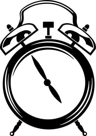 Alarm Clock Vinyl Ready  Illustration