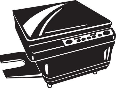 fotocopiadora: Fotocopia de vinilo máquina lista
