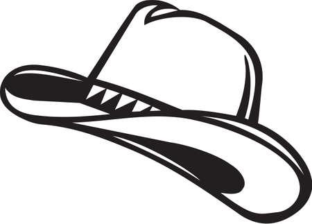 Cowboy Hat Vinyl Ready