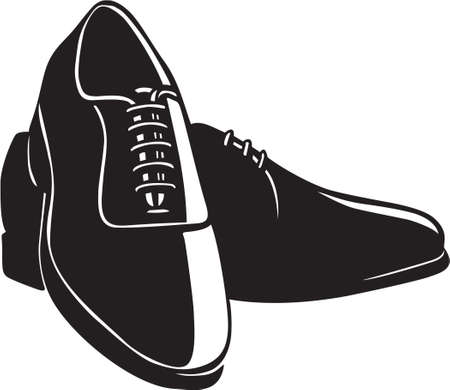 Hommes Chaussures Vinyl-Ready Banque d'images - 13981810
