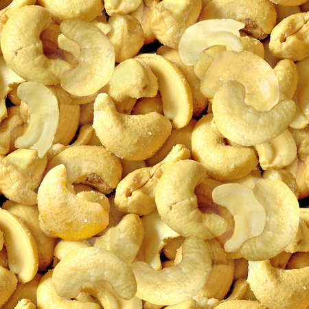 Cashew Nuts Seamless Texture Tile