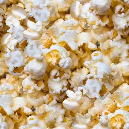 Popcorn Seamless Texture Tile Stock Photo