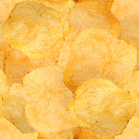 seamless tile: Potato Chips Seamless Texture Tile