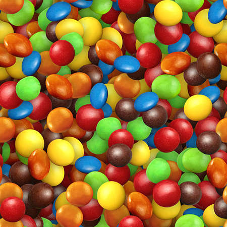 Candy Seamless Texture Tile Stock Photo
