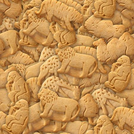 seamless tile: Animal Crackers Seamless Texture Tile