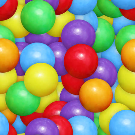 seamless tile: Gumballs Seamless Texture Tile Stock Photo