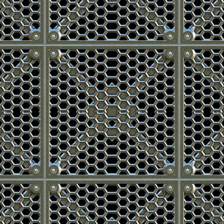 grate: Steel Grate Seamless Texture Tile