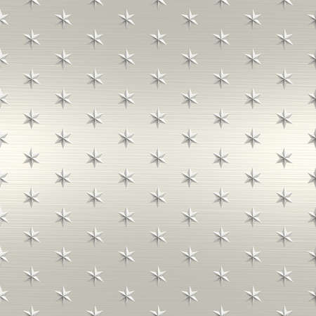 Star Metal Seamless Texture Tile Stock Photo - 14024309