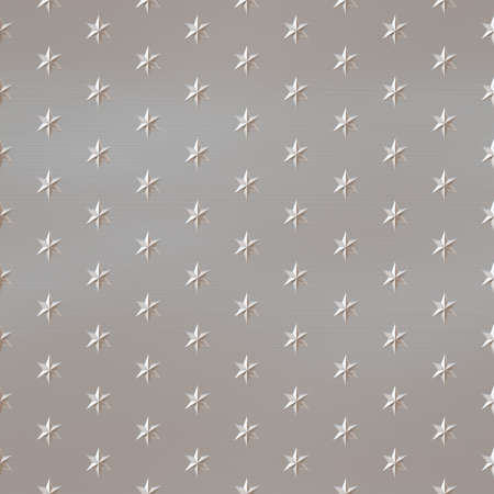 Star Metal Seamless Texture Tile Stock Photo - 14024303