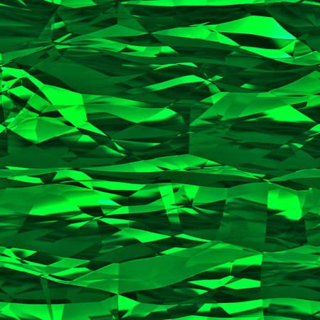 Aluminum Foil Seamless Texture Tile