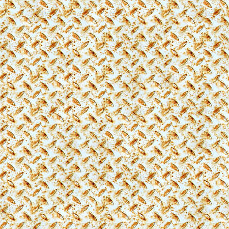diamondplate: Rusted Diamondplate Metal Seamless Texture Tile