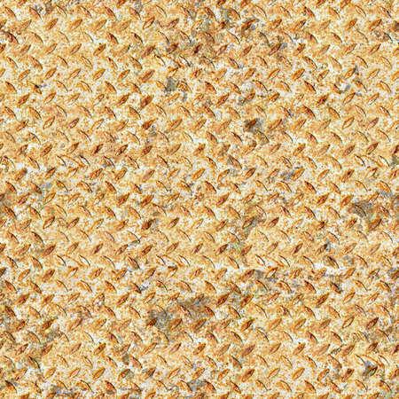 Rusted Diamondplate Metal Seamless Texture Tile