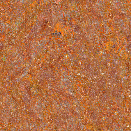 Rusted Metal Seamless Texture Tile photo