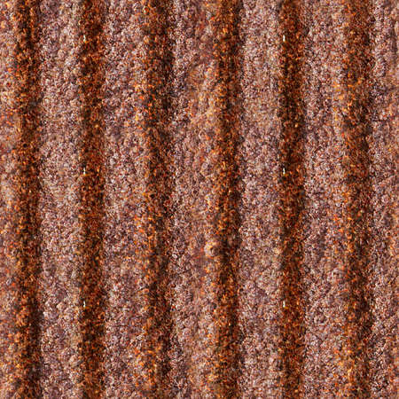 Rusted Corrugated Metal Seamless Texture Tile