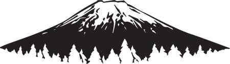 Mountain Vinyl Ready  Illustration