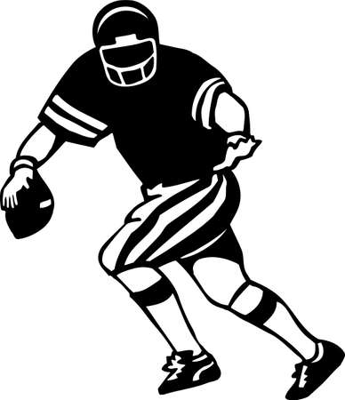 quarterback: Football Player Vinyl Ready