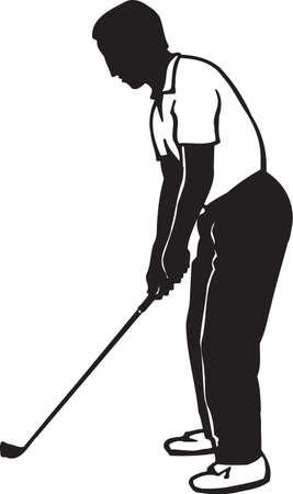 Golfer Vinyl Ready