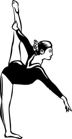 Gymnast Vinyl Ready