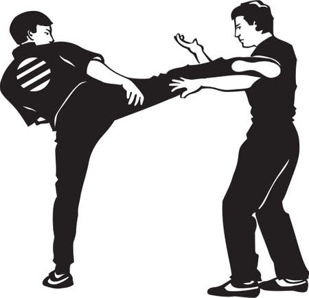 Karate Fighters Vinyl Ready