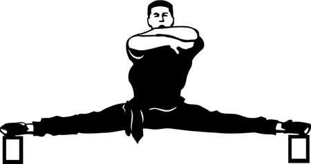 Karate Exercise Vinyl Ready