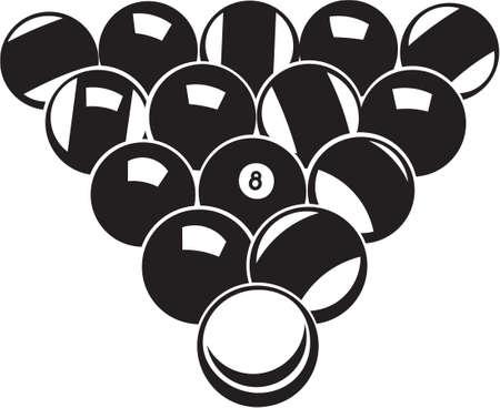 Pool Balls Vinyl Ready