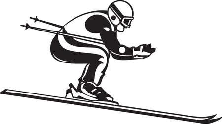 ski goggles: Skier Vinyl Ready