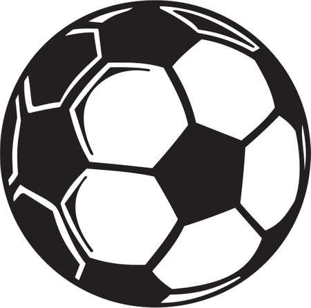 Balón de fútbol Listas para vinilo